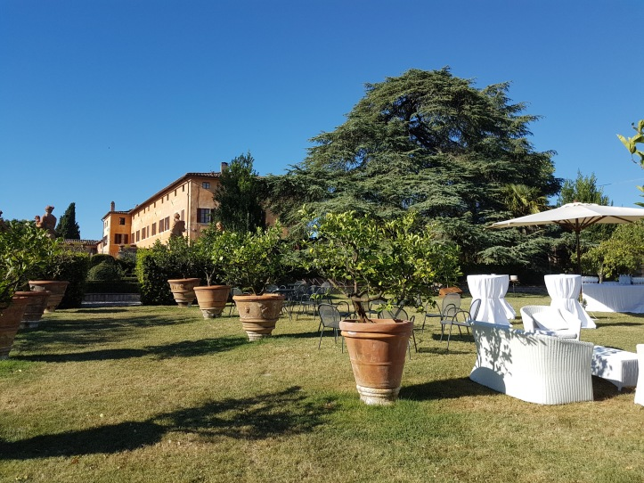 villa Catigano.view from the garden