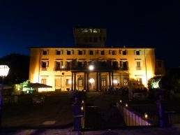 villa di Maiano by night