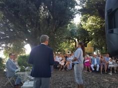 ceremony at Villa di Certano